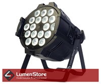 Imagem de Par LED RGBW Optipar - 18x12W - Quadriled