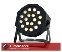 Imagem de Par LED Branco Quente - 18x3W