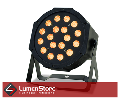 Picture of PAR LED AMBAR - 18X3W