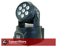 Imagem de Mini Moving Wash LED RGBW - 7x12W