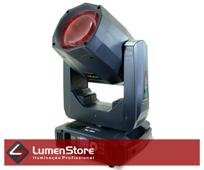 Picture of Moving Beam LED 200W - Prisma Duplo - Rainbow - Case Incluso