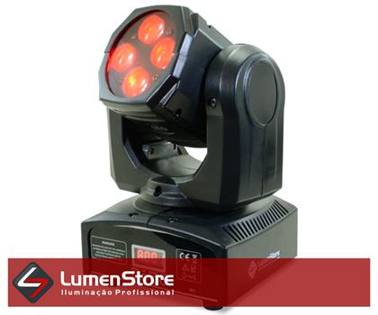 Picture of Mini Moving Beam LED RGBW - 4x12W - Quadriled