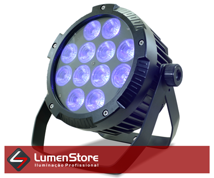 Picture of Par LED RGBWA+UV Outdoor - 12x18W - Hexaled - IP65