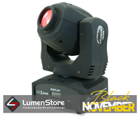 Imagem de Mini Moving Spot LED - 60W - Gobo e Cor