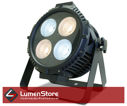 Picture of PAR LED COB OUTDOOR - BRANCO FRIO E QUENTE - 4X50W - IP65